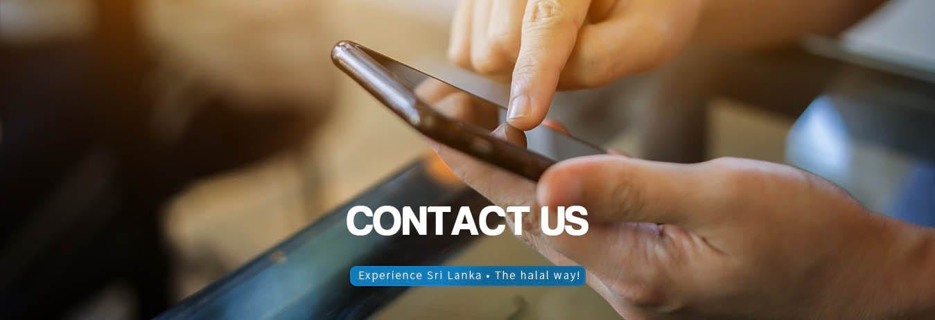 Reach out to SriLankaHalalTrips.com