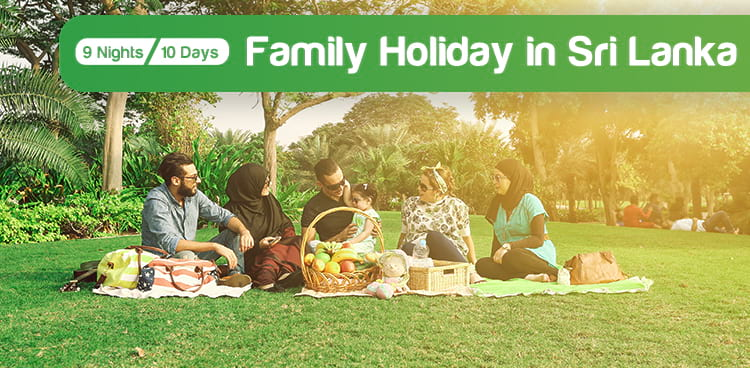 Family Holiday Package in Sri Lanka