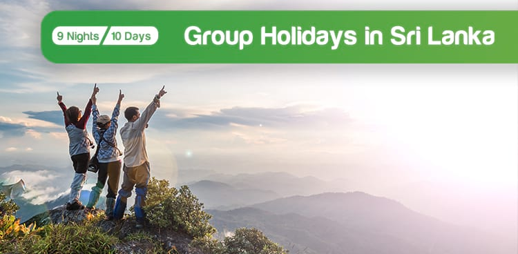 Group Holidays in Sri Lanka