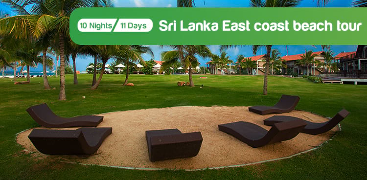 Sri Lanka East Coast Beach Tour Package