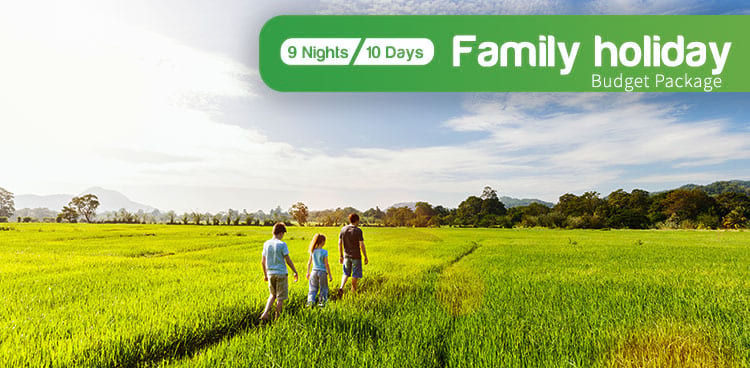 Family Holidays Budget Package Tour in Sri Lanka