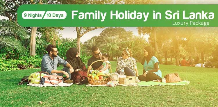 Luxury Family Holiday Package in Sri Lanka
